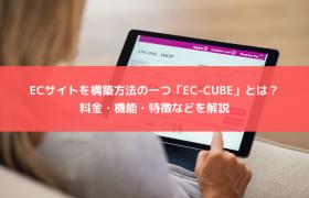 ECサイトを構築方法の一つ「EC-CUBE」とは?料金・機能・特徴などを解説